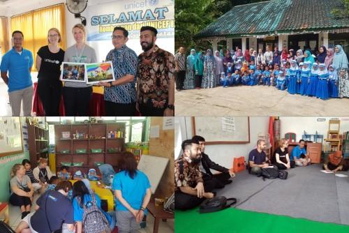 UNICEF DAN IKEA FOUNDATION KEMBALI KUNJUNGI KECAMATAN CIJERUK