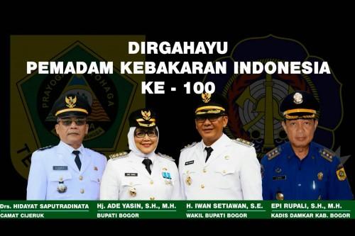 DIRGAHAYU PEMADAM KEBAKARAN INDONESIA by KECAMATAN CIJERUK